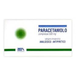 PARACETAMOLO ZETA 20CPR 500MG