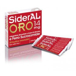 SIDERAL ORO 14MG 20BUSTINE...