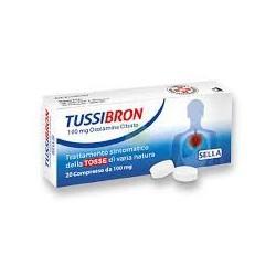 TUSSIBRON 20 COMPRESSE 100MG