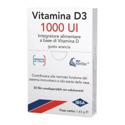 VITAMINA D3 IBSA 1000UI 30FILM
